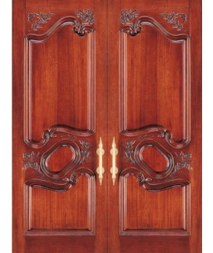 Provence Collection Carved Wood Exterior Door (2007)