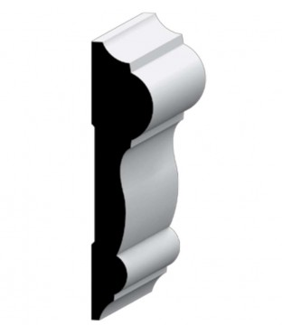 PRIMED WOOD AND MDF CHAIR RAIL (297)