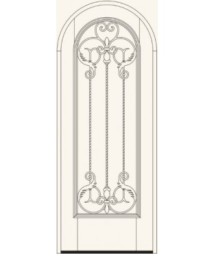 Manorgate Collection Wrought Iron Exterior Door (788)