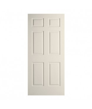 Bostonian/Colonist Primed 6 Panel Textured Door