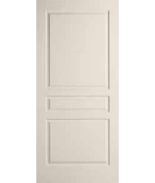 Avalon Primed 3 Panel Textured Door Clermont