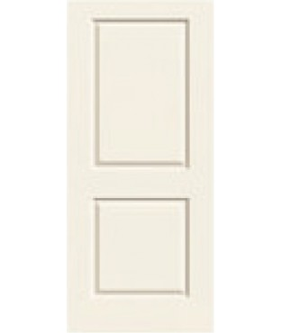 Carrara Primed 2 Panel Smooth Door