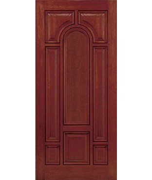 Classic-Craft 8 Panel Fiberglass Mahogany Exterior Door (CCM801)