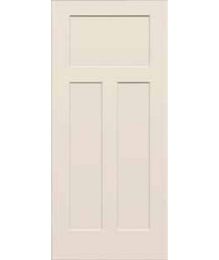 Craftsman Iii Primed 3 Panel Smooth Door