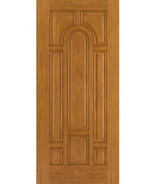 Fiber-Classic 8 Panel Fiberglass Oak Exterior Door (FC134)