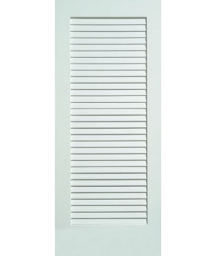 Infinity MDF Primed Open Full Louver Smooth Door (3901)