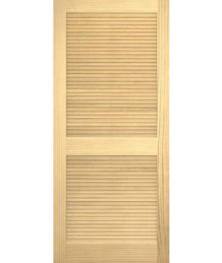 Pine Open Louver Smooth Door (WP-730)