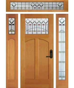 Artist Collection Northwest Garden Exterior Door (6993)