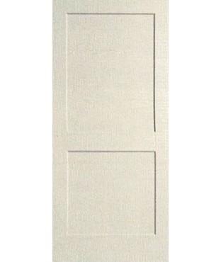 2 Panel Shaker Sticking Primed Door (PR22S)