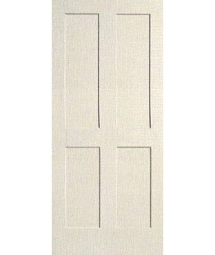 4 Panel Shaker Sticking Primed Door (PR44S)