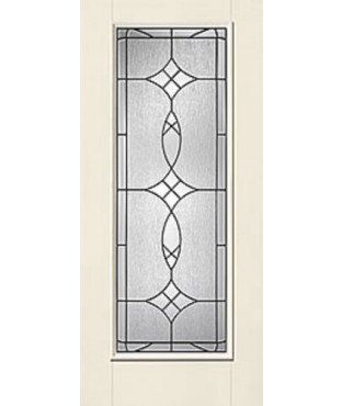 Smooth-Star 1 Panel Fiberglass Smooth Exterior Door (S6002)