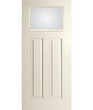 Smooth-Star 2 Panel Fiberglass Smooth Exterior Door (S601)