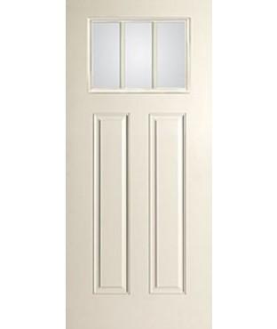 Smooth-Star 2 Panel Fiberglass Smooth Exterior Door (S606)