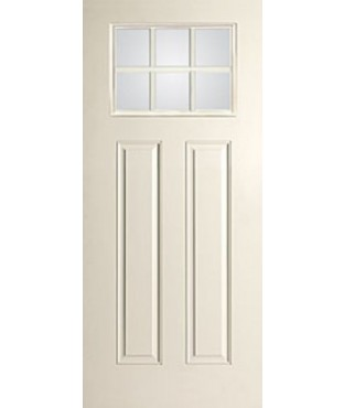 Smooth-Star 2 Panel Fiberglass Smooth Exterior Door (S608)