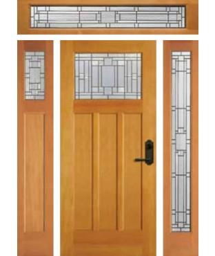 Artist Collection Scottsdale Cactus Exterior Door (6982)