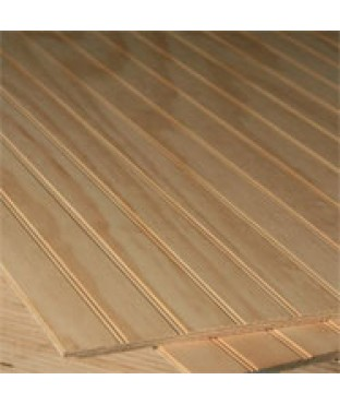 4 X8 Pine Stainable Selex B C Beaded Plywood