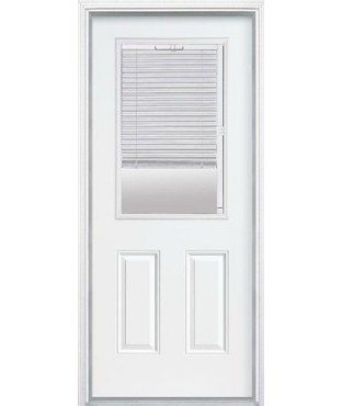 Belleville 3 panel fiberglass smooth exterior door with Belleville fiberglass doors