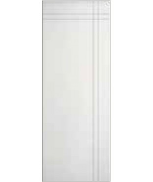 2 vertical horizontal Grooves Primed Smooth Finish Door (SL220)