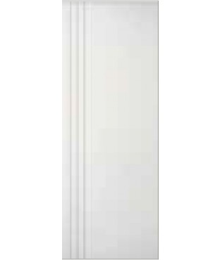3 Vertical Grooves Primed Smooth Finish Door (SL300)