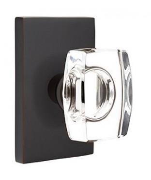 Windsor Crystal Privacy Door Knob