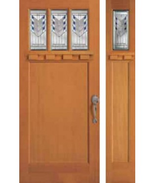 Craftsman Collection Torrance 1 Exterior Door (6833)