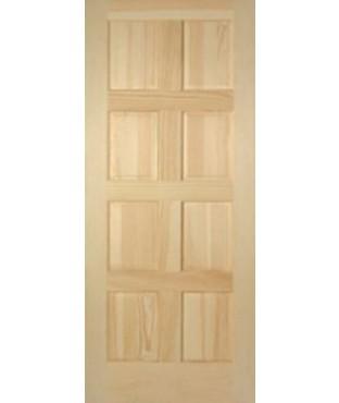 Superior 8 Panel Pine Door (WP 1088)