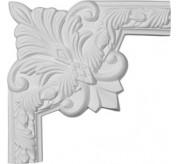 Milton Running Leaf Urethane Panel Corner Moulding (PML10X10MI-2)