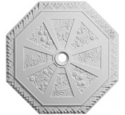 "30"" Spring Octagonal Urethane Ceiling Medallion (CM30SP)"