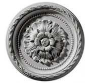 "12"" Palmetto Urethane Ceiling Medallion (CM11PA)"