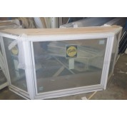 3-wide casement, Angle Bay 45 Degree Window