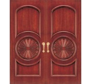 Embassy Collection Carved Wood Exterior Door (2045)
