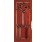 Symphonic Collection Carved Wood Exterior Door (2076)