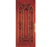 Florentine Collection Carved Wood Exterior Door (2081)