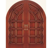 Metropolitan Collection Carved Wood Exterior Door (2107)