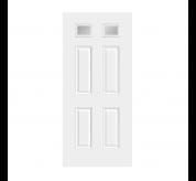 6 Panel Fiberglass Smooth Exterior Door (23)