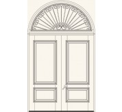 Manorgate Collection Wrought Iron Exterior Door (3069)