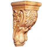 """10"""" Medium Grapevine Tassel Wood Corbel (CRV5112)"""