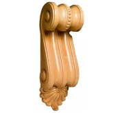 "27"" Extra Large Scrolled Wood Corbel (CRV5113)"