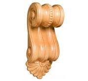 "14"" Large Scrolled Wood Corbel (CRV5114)"