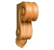"12"" Medium Scrolled Bracket Wood Corbel (CRV5116)"
