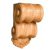 "7"" Small Scrolled Wood Corbel (CRV5117)"