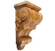 "16"" Large Imbricated Wood Corbel (CRV5228)"