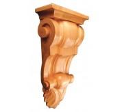 """14"""" Medium Fluted Wood Corbel - Medium (CRV5238)"""