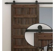 Wall Mounted Hardware Dark Brown (640)