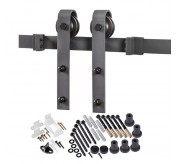 Barn Door Bent Strap Mount Kit