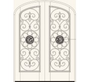 Manorgate Collection Wrought Iron Exterior Door (777)