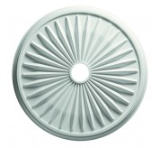 "24"" Sunburst Polyurethane Ceiling Medallion (80624)"
