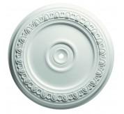 """24"""" Egg & Dart Polyurethane Ceiling Medallion (83324)"""