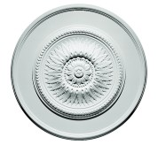 "23"" Sunflower Polyurethane Ceiling Medallion (85023)"