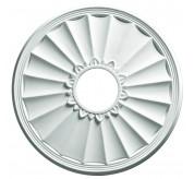 "16"" Classic Polyurethane Mini Ceiling Medallion (87316)"
